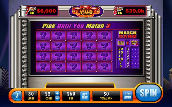 Quick Pick Slot Game